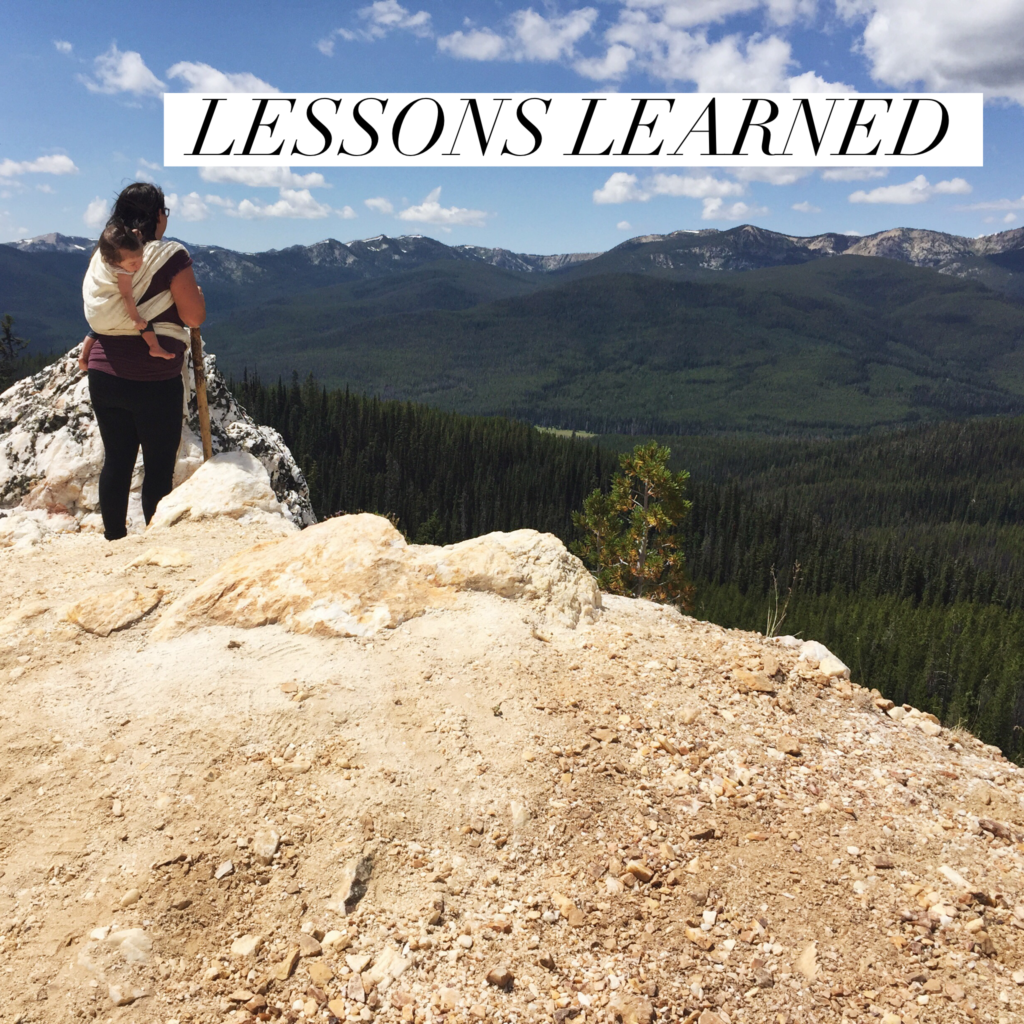 Lessons Learned [and our thoughts on McCall, ID]